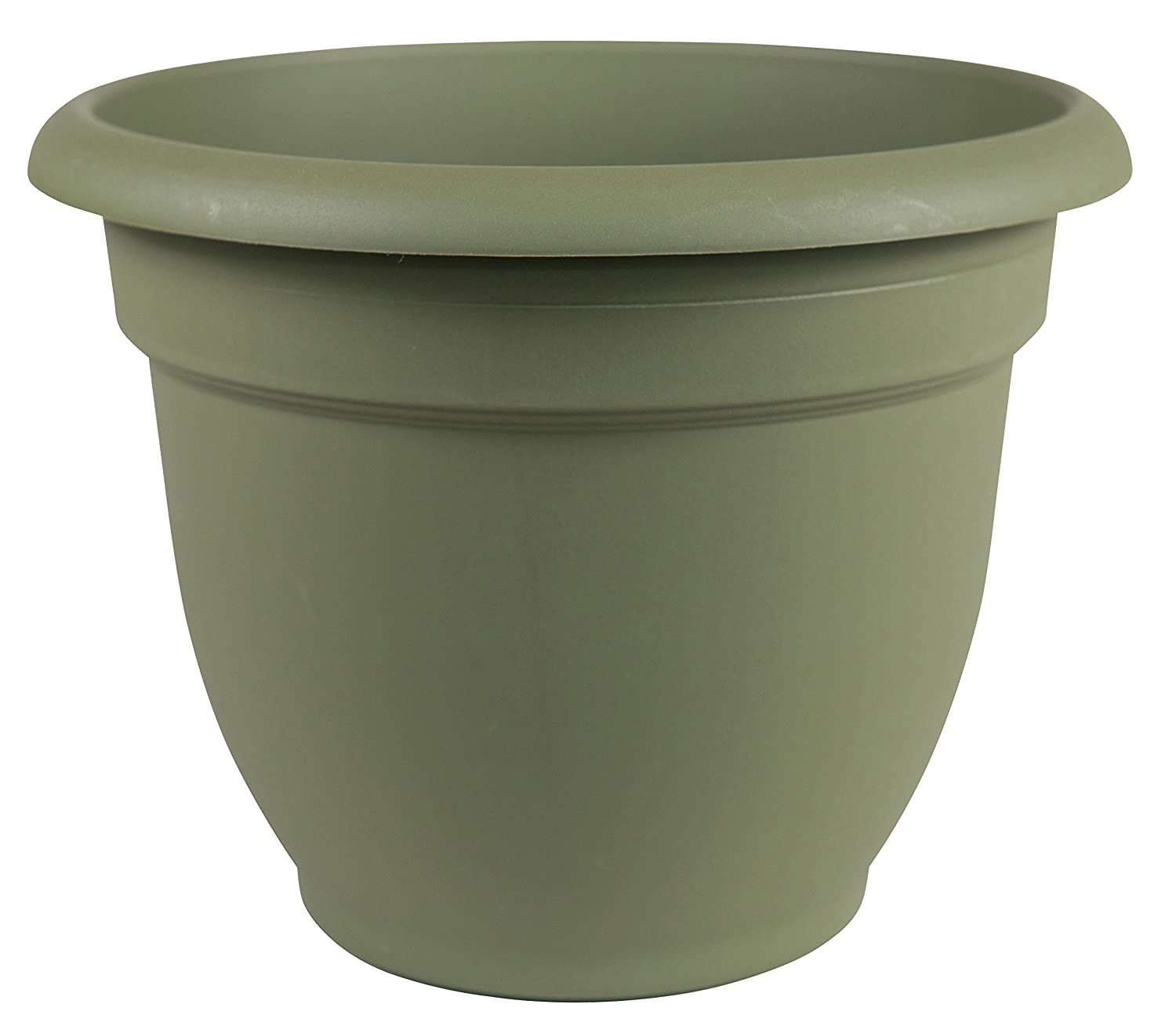 Bloem 20-56420 Fiskars 20 Inch Ariana Planter with Self-Watering Grid, Thyme Green