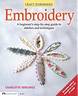 Hand Embroidery Stitches At-A-Glance: Carry-Along Reference Guide