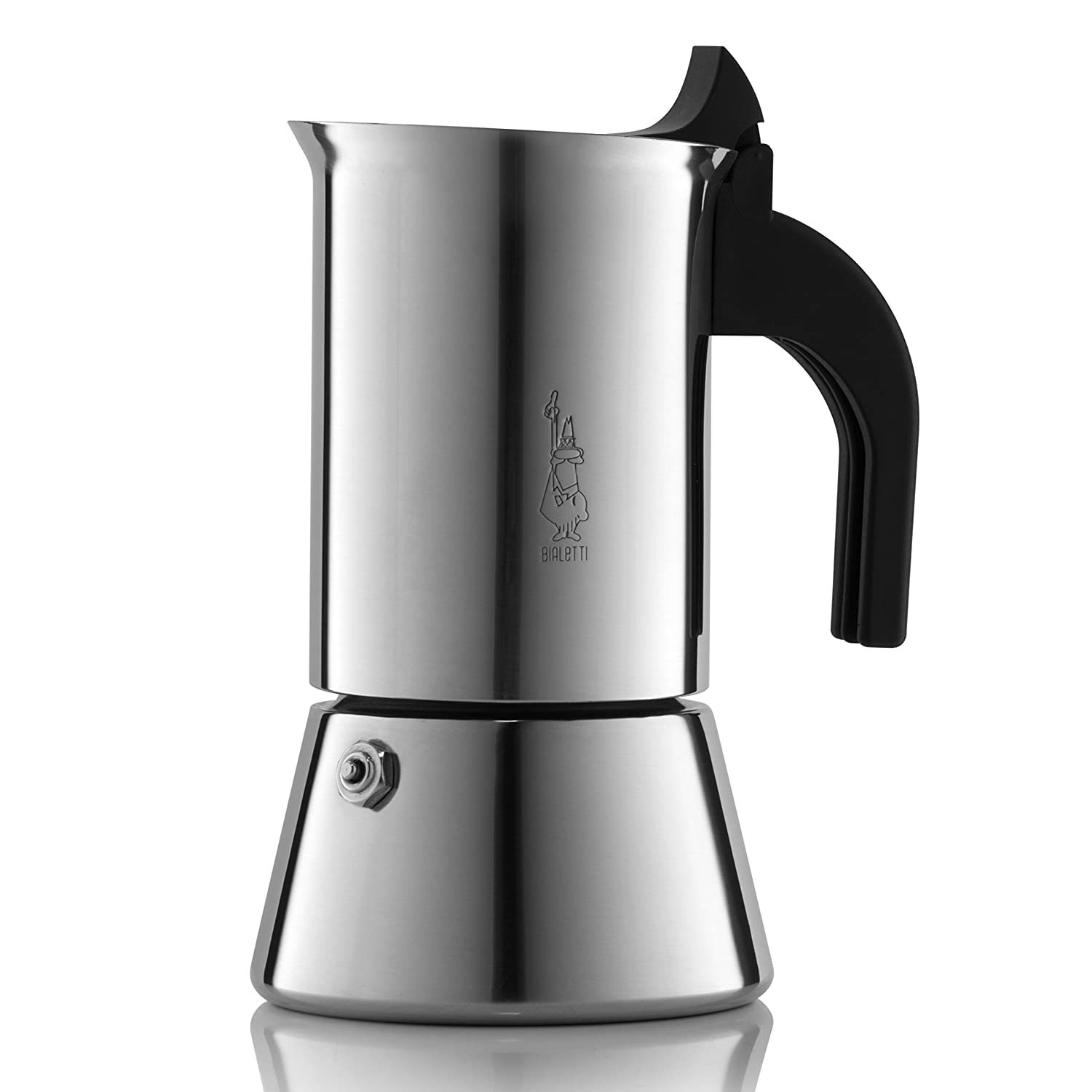 Bialetti Venus Espresso Coffee Maker, Stainless Steel, 4 cup