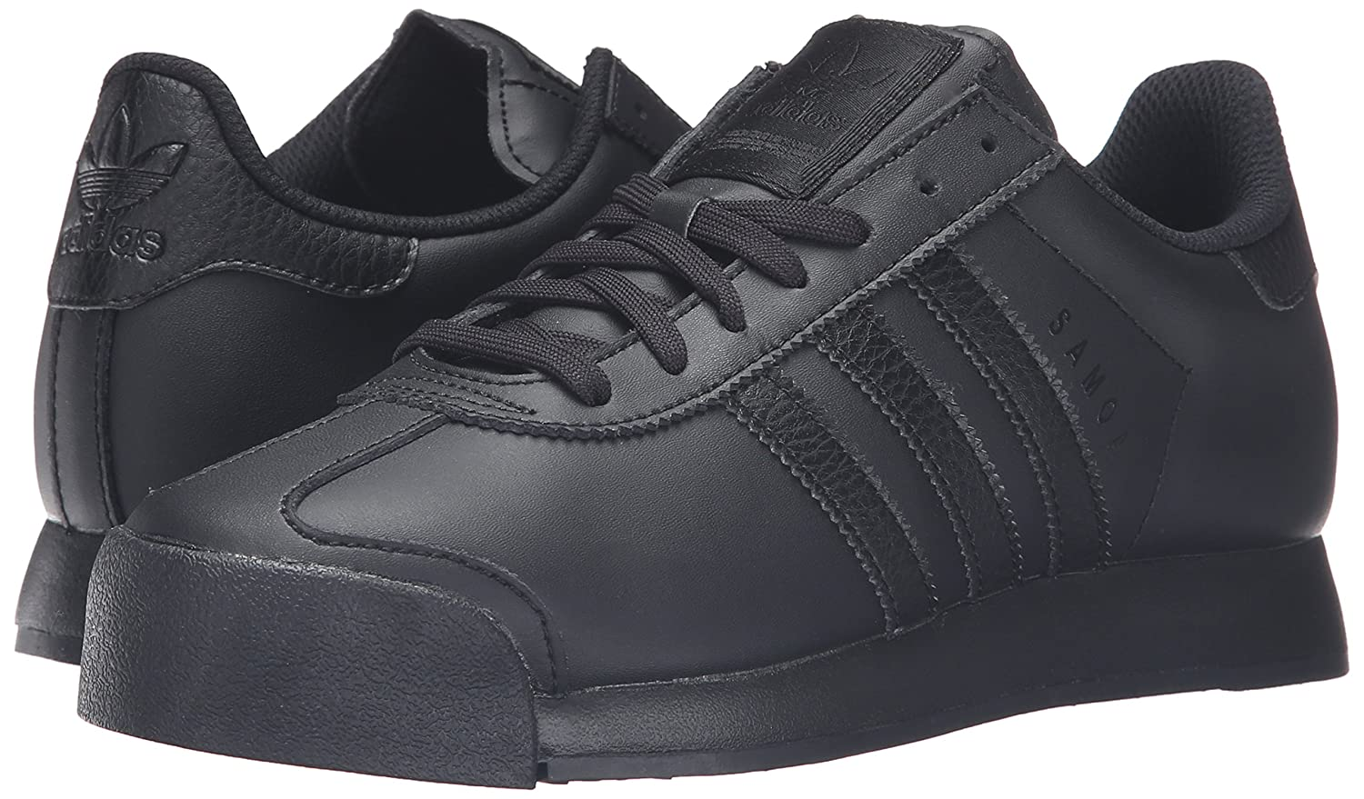 Amazon.com | adidas Originals Mens Samoa Retro Sneaker Running Shoe Black, ((12 M US) | Fashion Sneakers