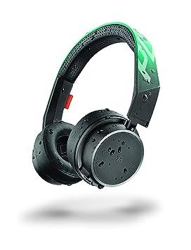 Plantronics BackBeat FIT 500 Negro, Verde Azulado Supraaural Diadema Auricular - Auriculares (Supraaural,