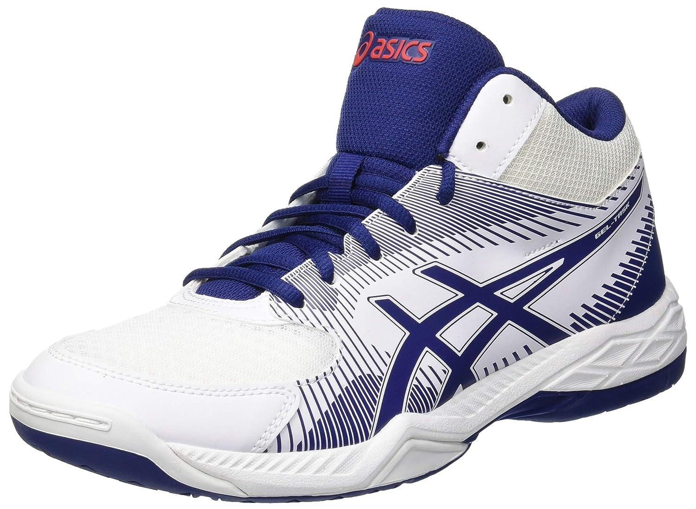Bleu (blanc bleu Print 100) ASICS Gel-Task MT, Chaussures de Volleyball Homme 46 EU
