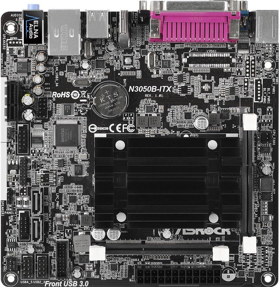 ASRock Mini ITX DDR3 1066 NA Motherboard N3050B-ITX