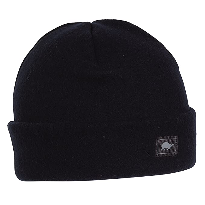 0c81737dc33f24 Amazon.com: Turtle Fur Original Fleece The Hat, Heavyweight Fleece Watch Cap  Beanie, Black: Turtle Fur: Clothing