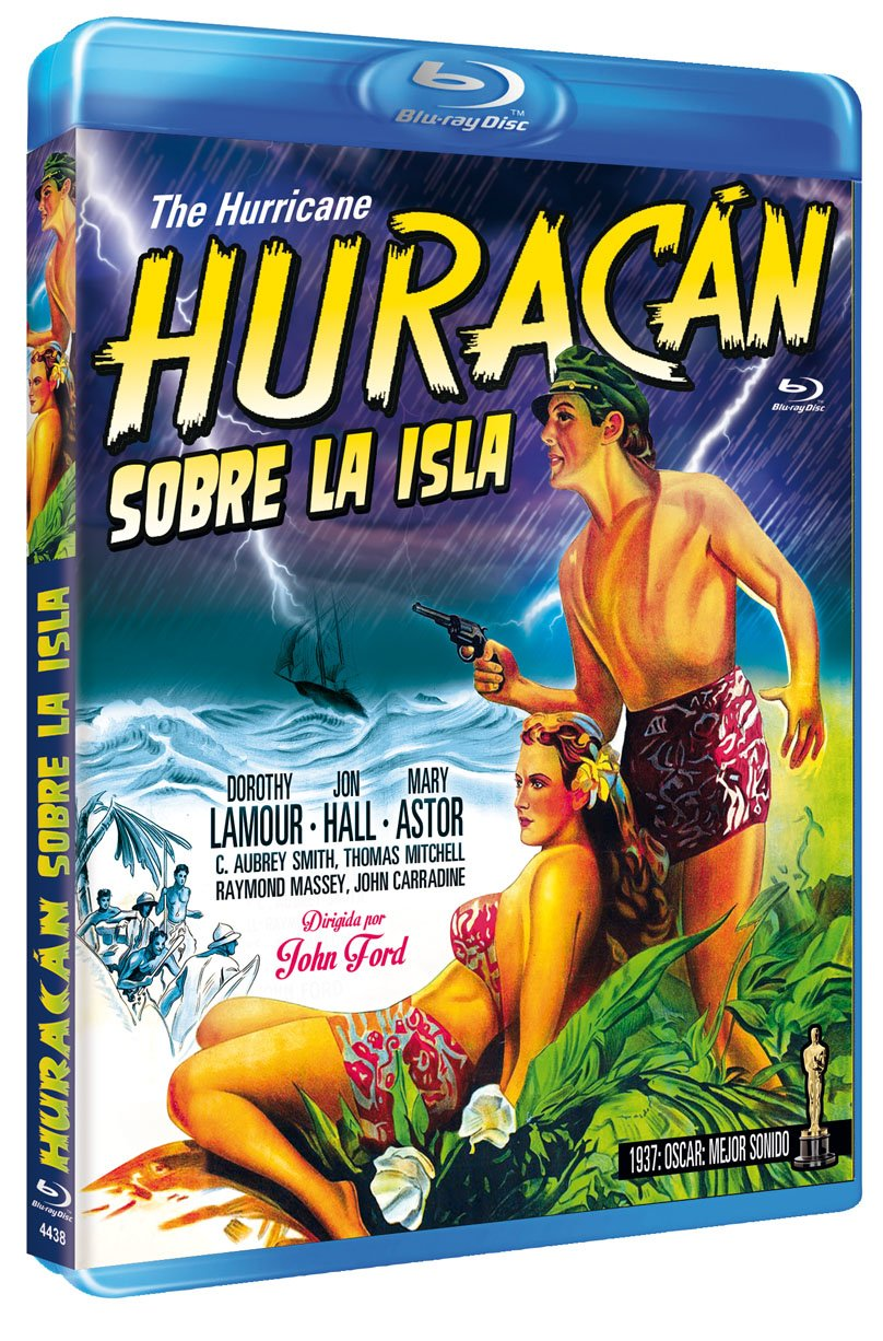 Huracán Sobre La Isla 1937 Bd the Hurricane [Non-usa Format: Pal -Import- Spain]