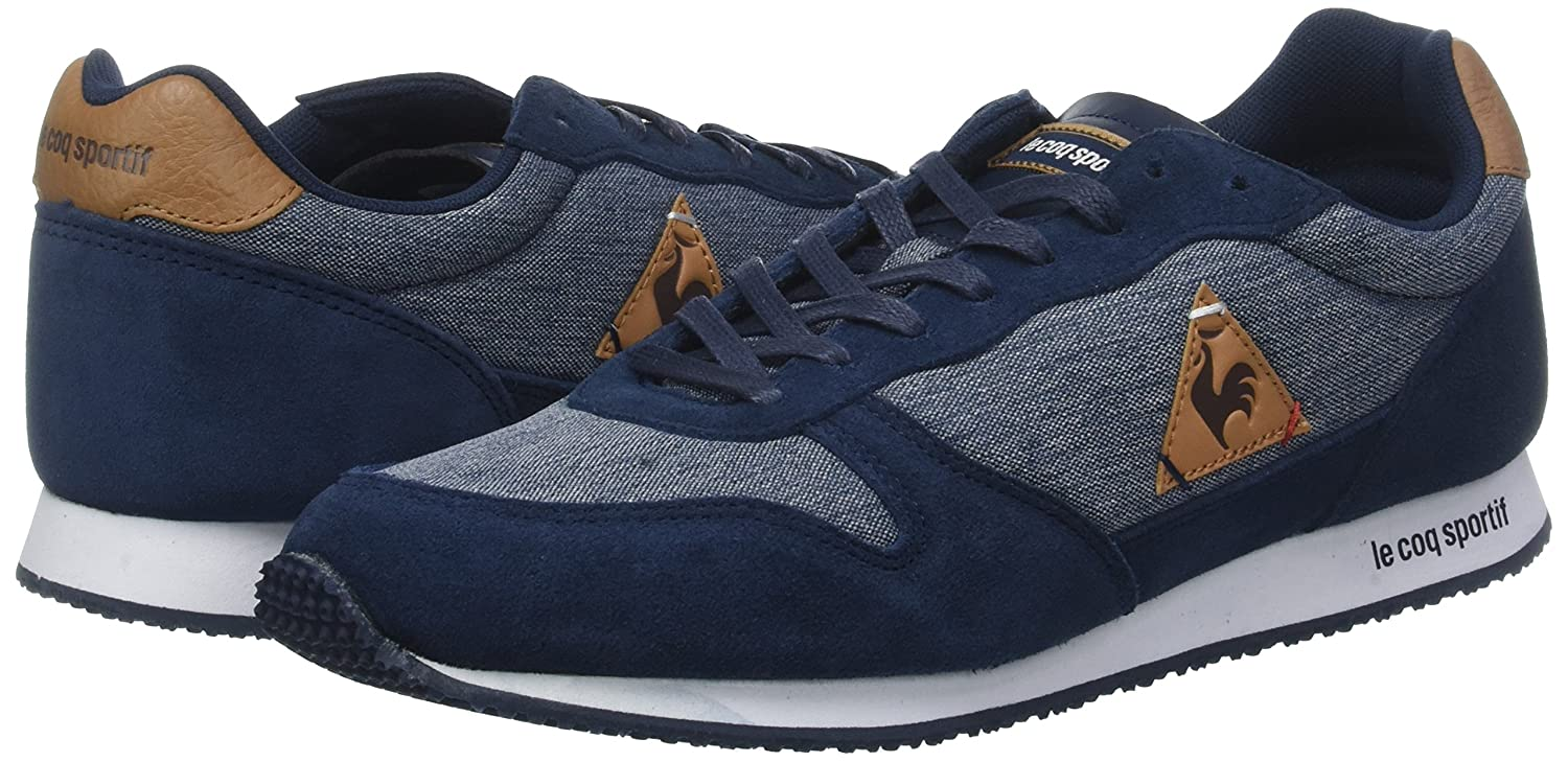 Amazon.com | Le Coq Sportif Alpha Craft Sneakers Low Sneakers Blu | Fashion Sneakers