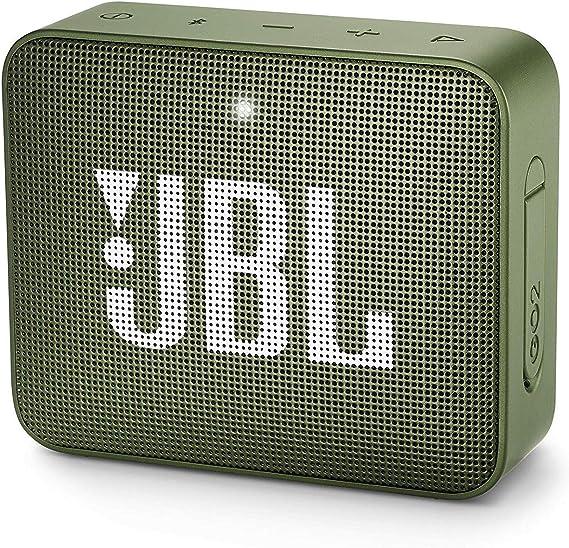 Jbl Go 2 Kleine Musikbox In Grün Wasserfester Portabler Bluetooth Lautsprecher Mit Freisprechfunktion Bis Zu 5 Stunden Musikgenuss Mit Nur Einer Akku Ladung Audio Hifi