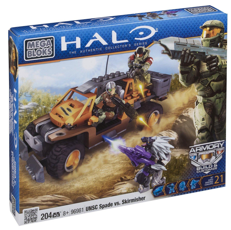 96981U/_ UNSC Spade vs Mega Bloks 96981 Halo Skirmisher