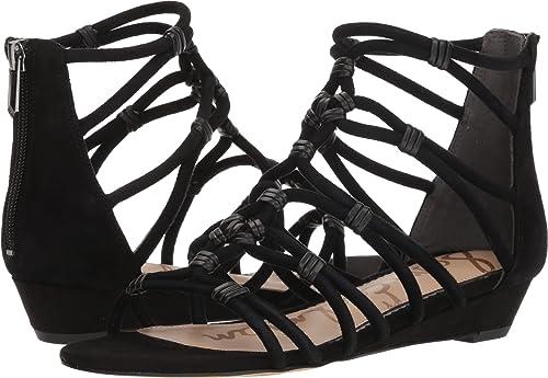 e9206889a3f Sam Edelman Women s Daryn Black Diva Suede Leather 6 ...
