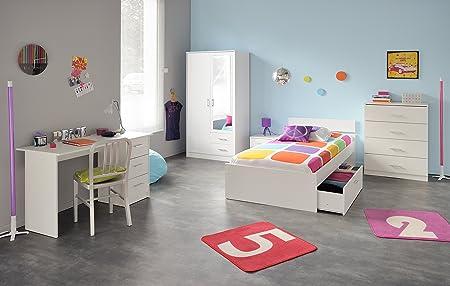 Parisot Childrens Bedroom Furniture Set Piece Infinity White - Parisot bedroom furniture
