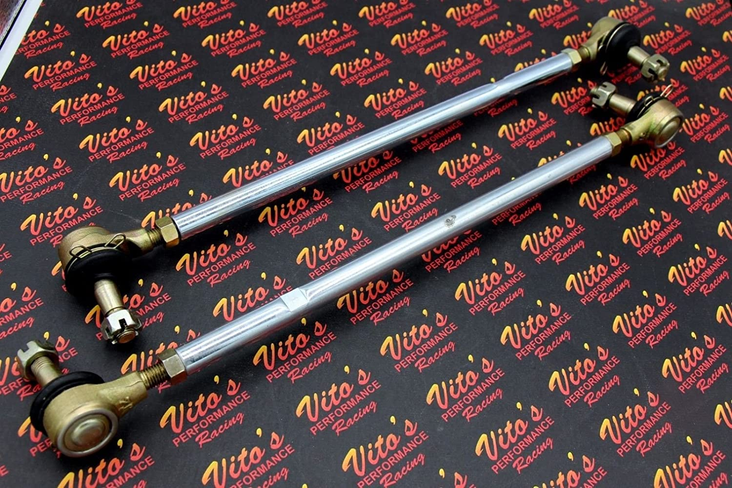 NEW YAMAHA BANSHEE WOLVERINE 350 HEAVY DUTY TIE ROD KIT RIGHT LEFT WITH ROD ENDS