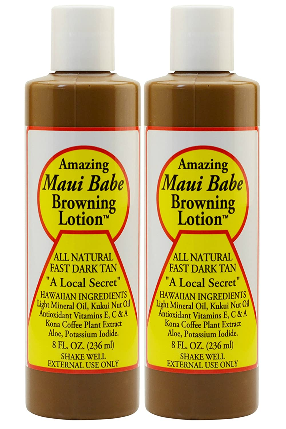 Maui Babe Tanning and Browning Lotion 8 Ounces (Pack of 2) MB-BL 4oz-2