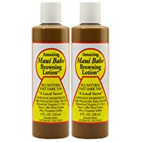 Maui Babe Tanning and Browning Lotion 8 Ounces (Pack of 2)
