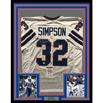 new concept 021eb 797ad Framed Autographed/Signed OJ O.J. Simpson 33x42 Buffalo ...
