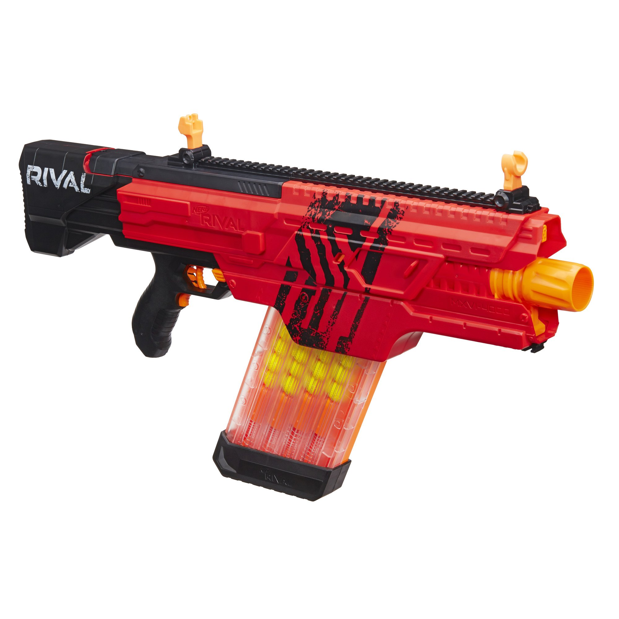 Nerf Rival Khaos MXVI-4000 Blaster (Red) by NERF (Image #3)
