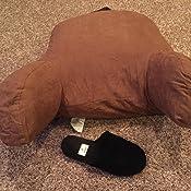 Amazon.com: Almohada de ante de microgamuza Deluxe Comfort ...