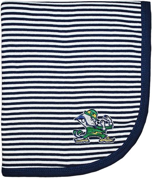 University of Notre Dame Fighting Irish Leprechaun NCAA Baby Blanket 33 x 36