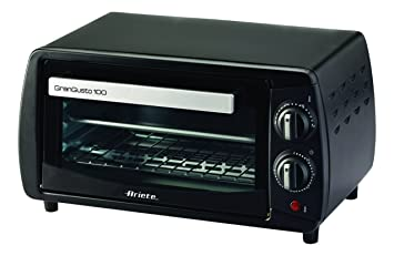 Ariete 980 - Mini horno, 800 W, capacidad de 10 l, temporizador y