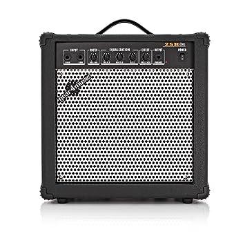 Amplificador de Bajo de 25W de Gear4music: Amazon.es: Instrumentos musicales