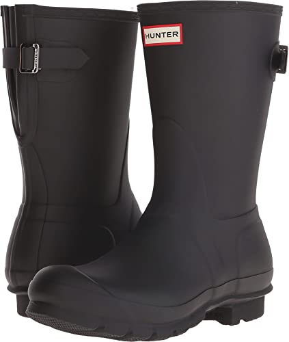 a0d75725c12 HUNTER Women's Original Short Back Adjustable Rain Boots