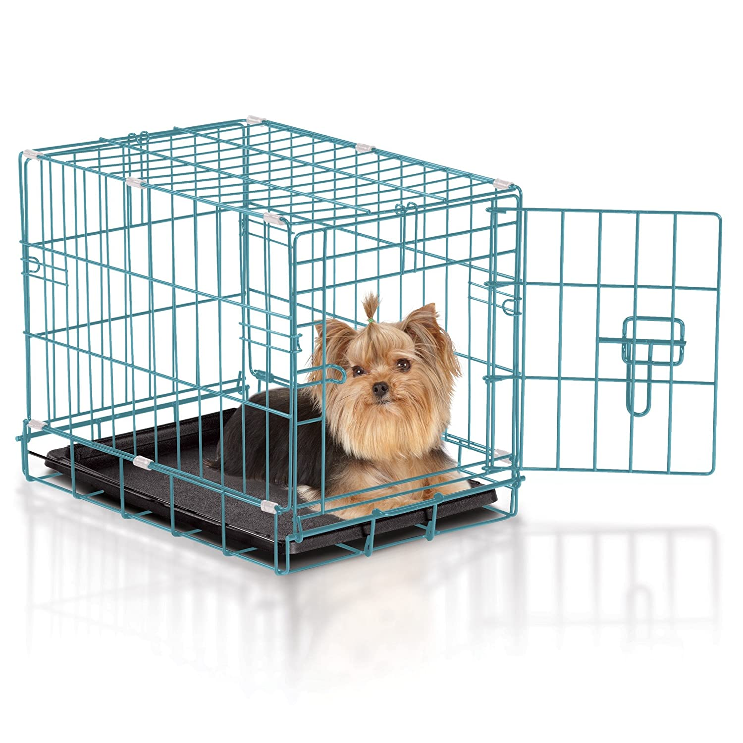 Amazon.com : Easy Dog Crate, X-Small, Teal : Pet Supplies