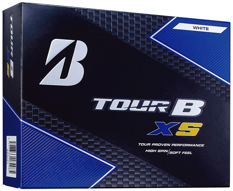 【3ダースセット】2017年モデル ブリヂストンゴルフ TOUR B XS ゴルフボール (36p)ホワイト   B07674QBM9