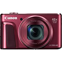 Canon PowerShot Digital Camera with 3-Inch LCD, Red (SX720 HS)