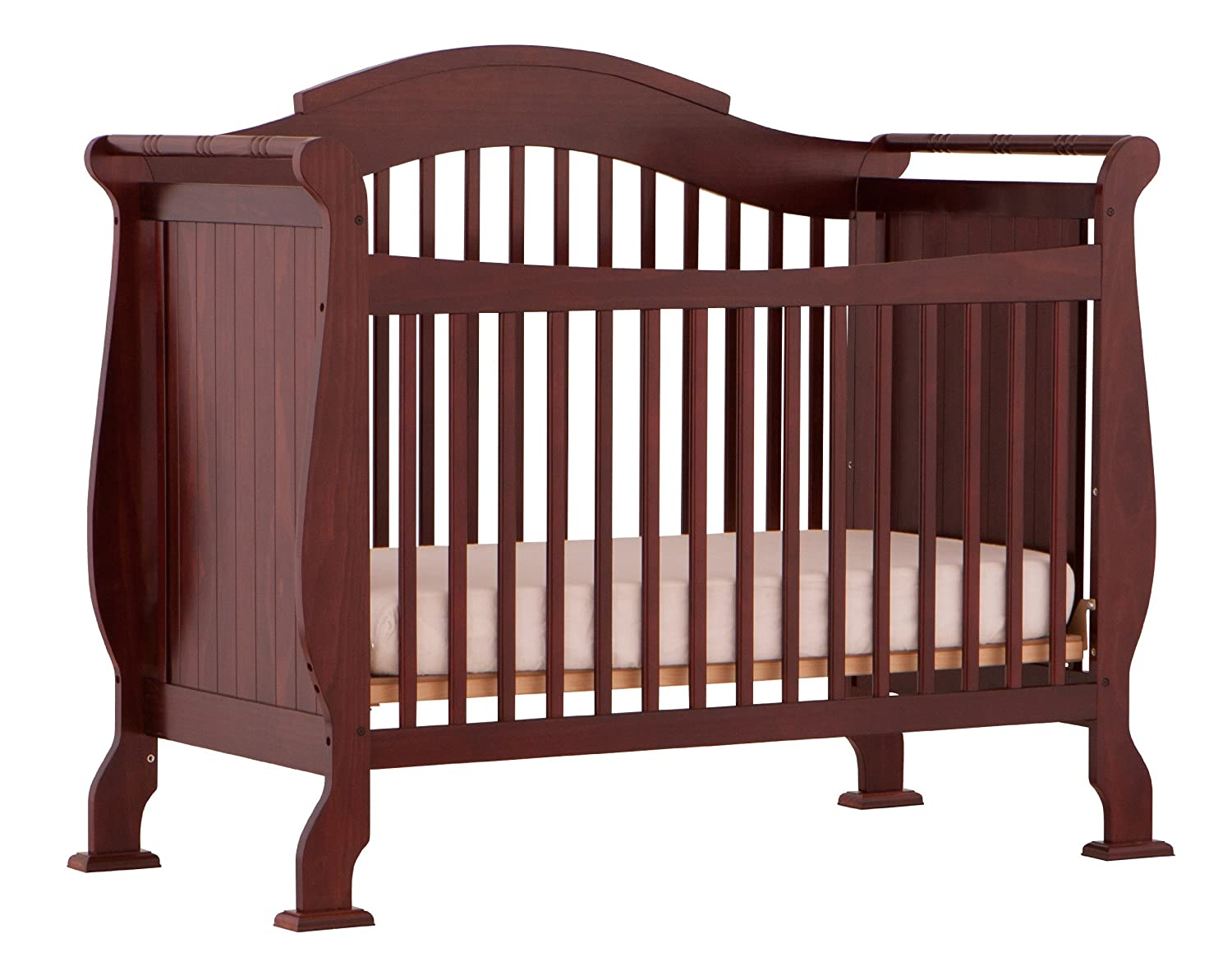 Elegant Amazon.com : Storkcraft Valentia Convertible Crib, Cherry : Baby Cribs :  Baby