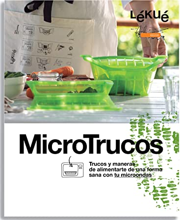 Amazon.com: Lekue Microwave m292379 Recipe Book (in Spanish ...