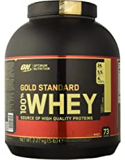Optimum Nutrition 100% Whey Protéine Gold Standard, Française Vanille Crème, Whey Isolate, 2,2 kg