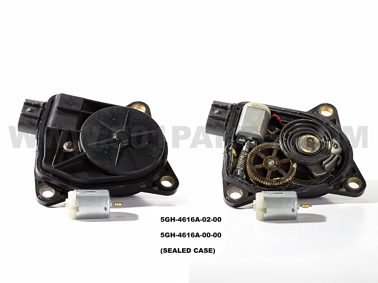 Yamaha Atv 4wd Servo Actuator Motor Only 5km 4616a 02 Grizzly Cdi Box Wiring Diagram 00 5gh Automotive