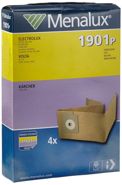 Menalux 1901 P - Bolsas de papel para aspiradoras Electrolux ...