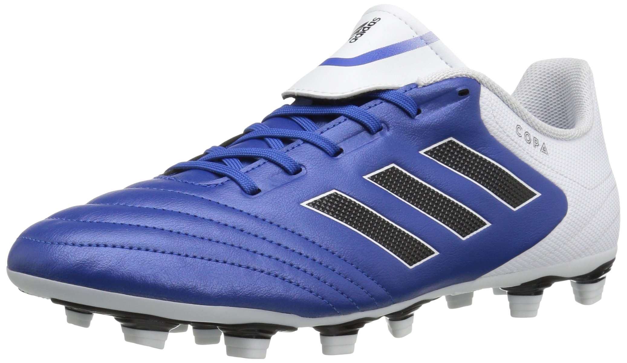 adidas Men's Copa 17.4 FxG Soccer Shoe, Blue/White/Black, 7 M US by adidas