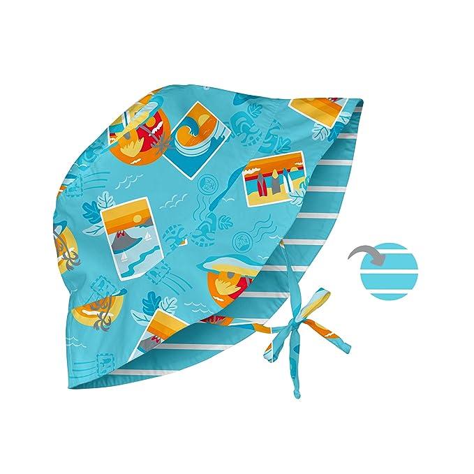 ef105bba129 Amazon.com  i play. Baby Reversible Bucket Sun Protection Hat