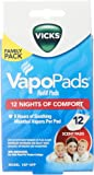 Vicks Vapo Pad Family Pack, 12 Count