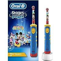 Oral-B Stages - Brosse à Dents Électrique pour Enfants avec Personnages Mickey