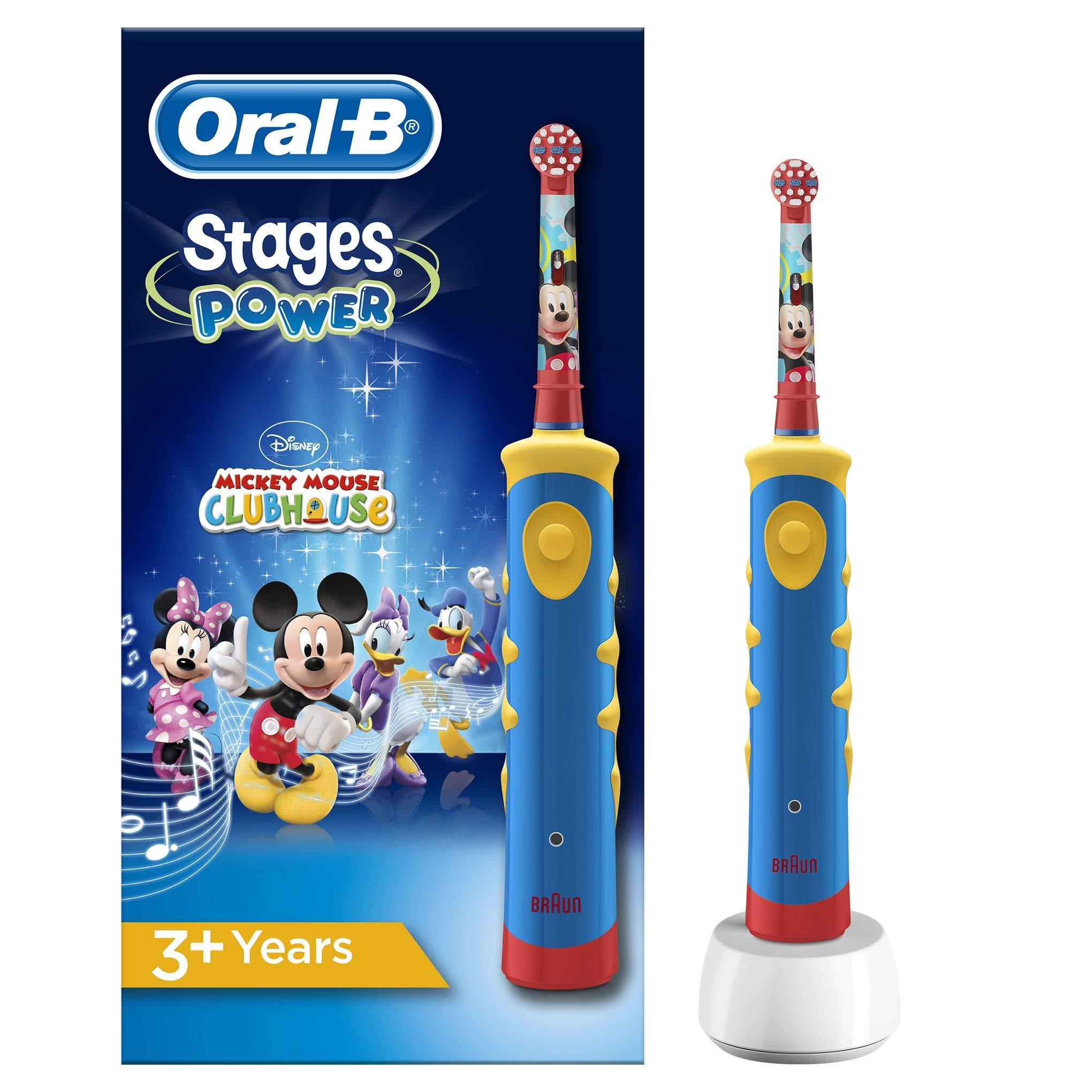 Oral-B Stages - Brosse à Dents Électrique pour Enfants avec Personnages Mickey product image