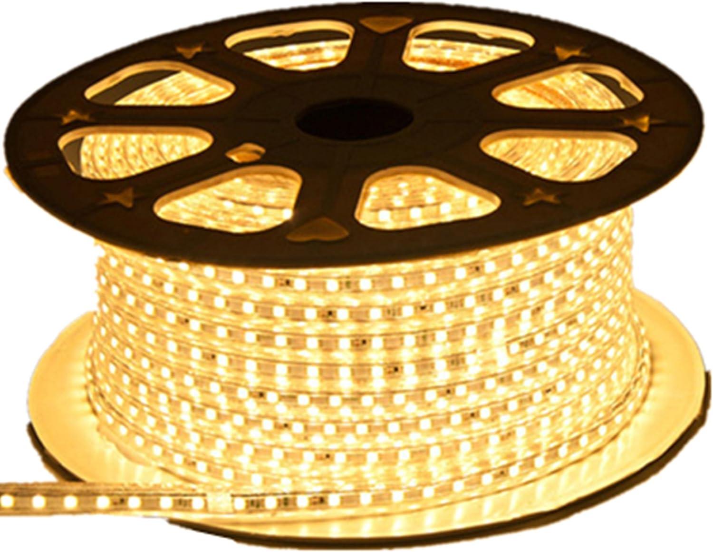 Viktion - Cintas de LED (220 V, 10 m, SMD 5050, flexible ...