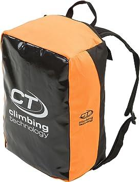 Climbing Technology Tank - Mochilas de Escalada/Bolsa para Cuerda - Naranja/Negro 2016