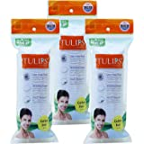 Tulips Cotton Pads 50s (Pack of 3)