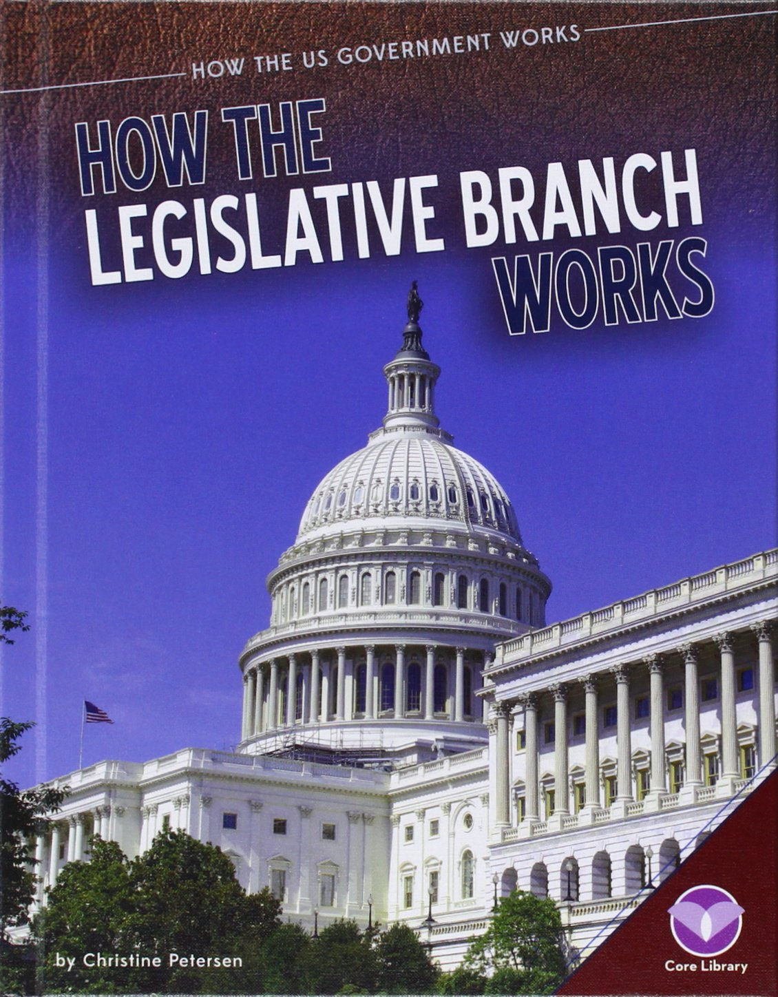How the Legislative Branch Works (How the Us Government Works) pdf