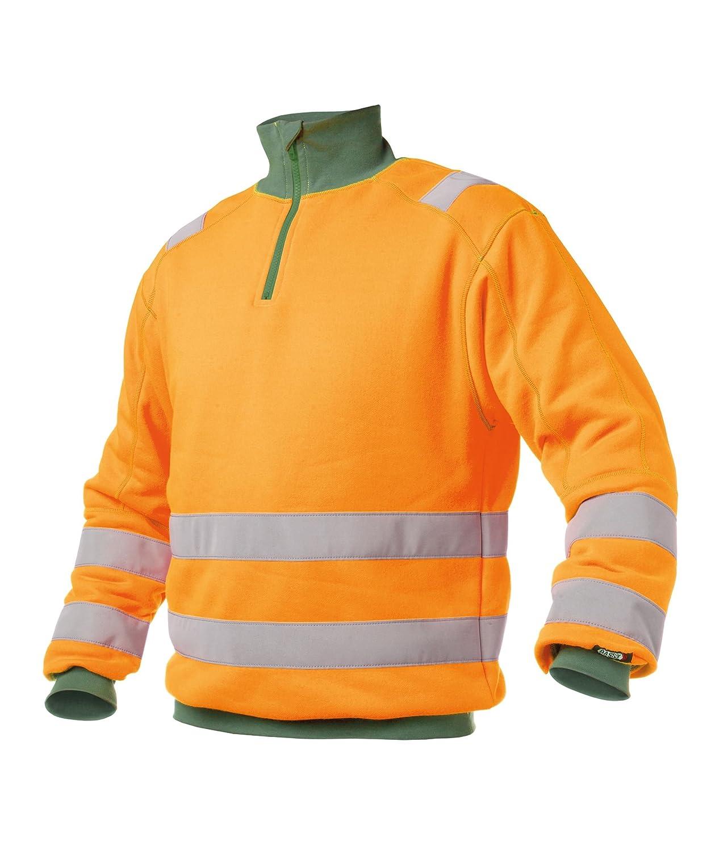 Orange / grün