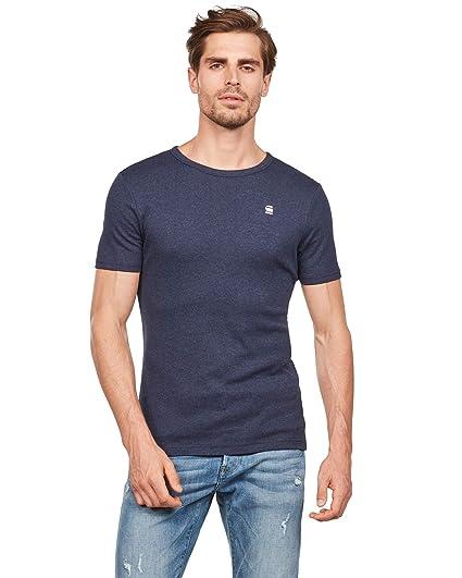G-STAR RAW Daplin R T S/S Camiseta para Hombre: Amazon.es: Ropa y ...