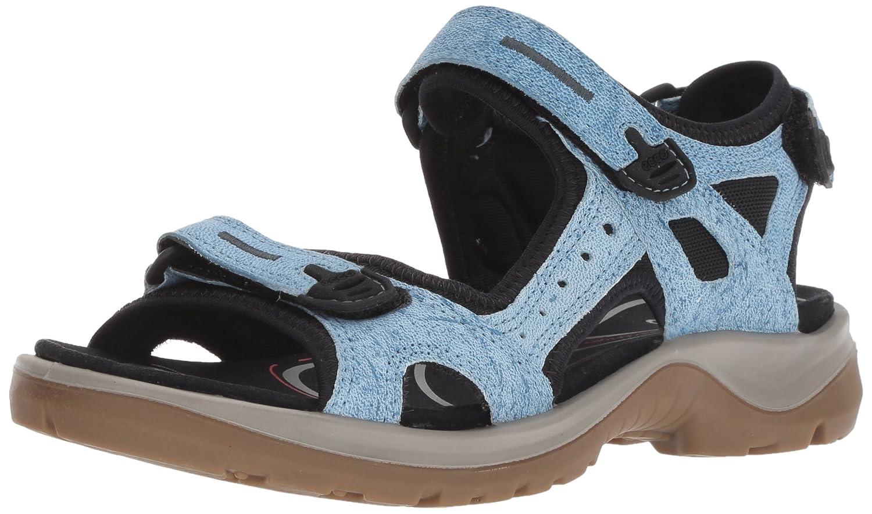 Ecco Damen Offroad Peeptoe Sandalen Blau (Indigo (Indigo Blau 5 1321) 6e396b