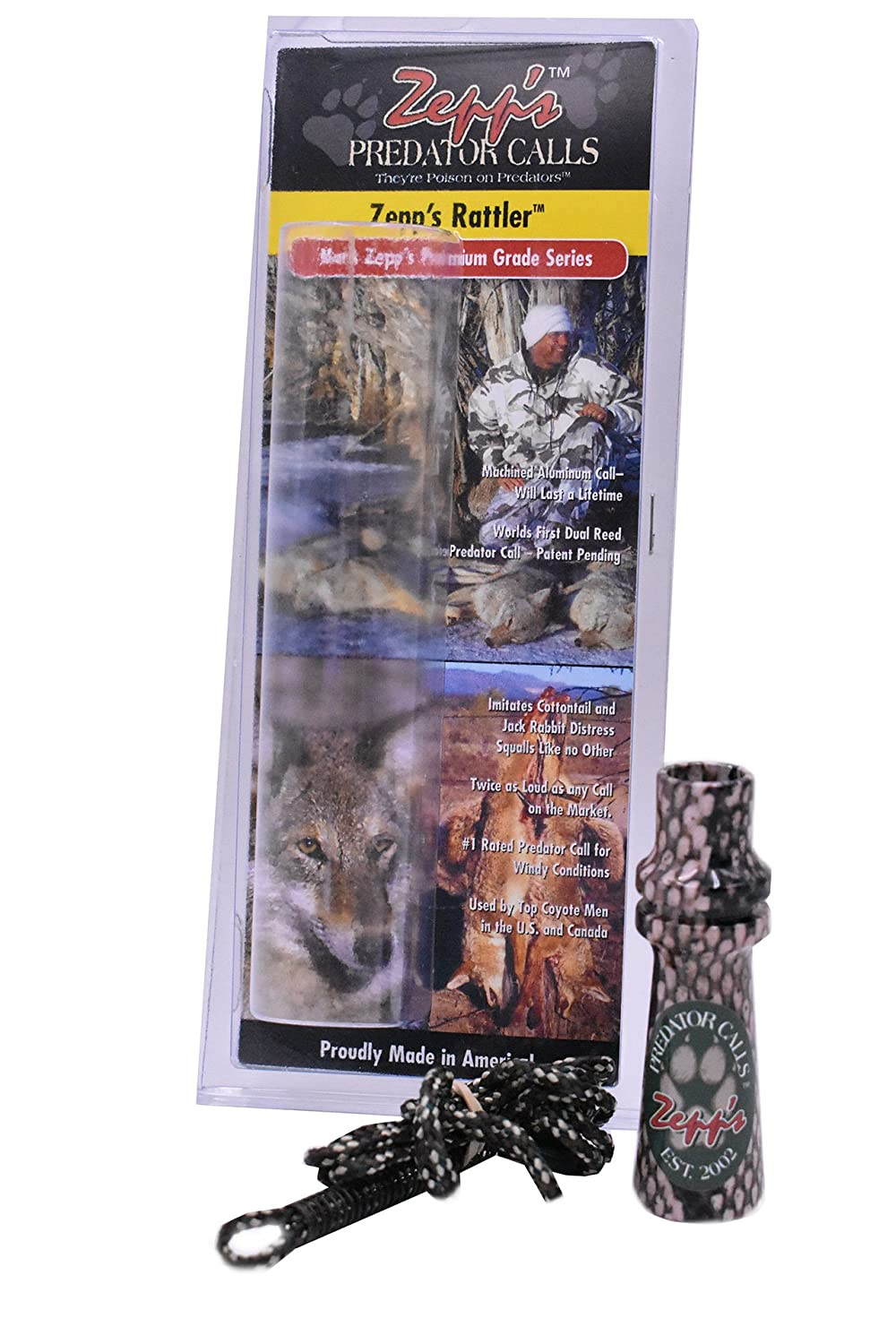 Amazon.com : Zepps Predator Calls & Squallers (Zepps Coon Squallers - Lifetime) : Sports & Outdoors