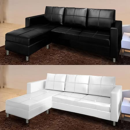 Wondrous Bagno Italia Modern Corner Sofa With Chaise Longue Faux Pdpeps Interior Chair Design Pdpepsorg