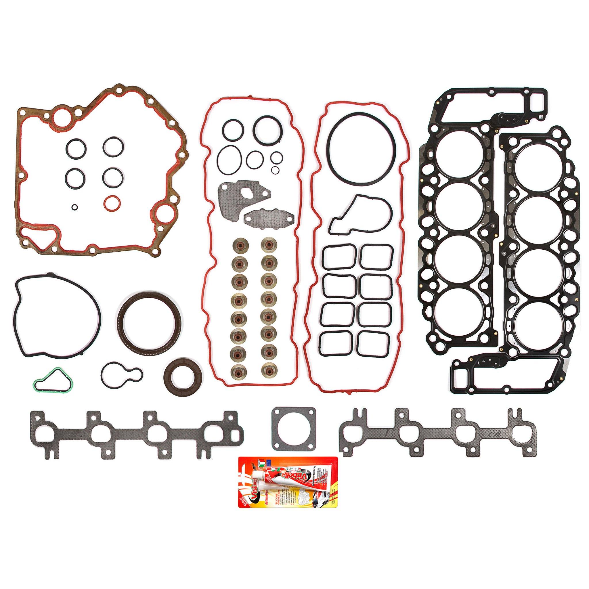 99-02 Dodge Jeep 4.7 Liter 287 V8 Vin N Full Gasket Set