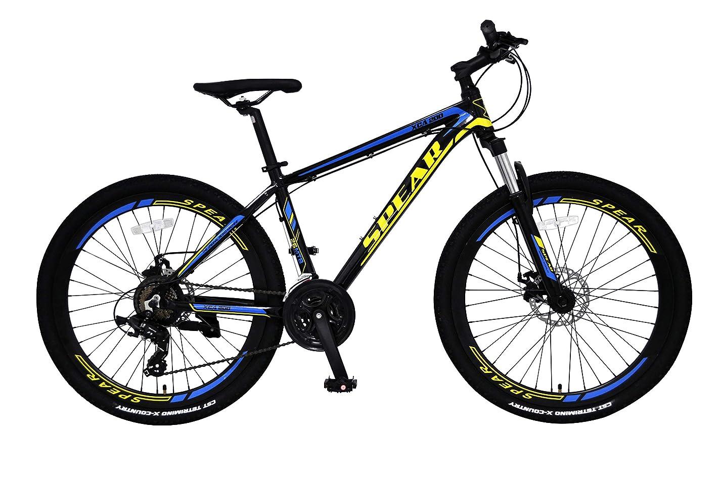 失うアイロニー頑固なSPEAR (スペア) クロスバイク 26インチ シマノ 7段製変速 SPC-267 ディレーラー Tourney(ターニー) 男性 女性 適用身長 155cm以上 1年保証付
