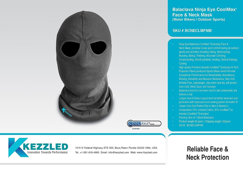 Amazon.com : Kezzled Halloween Tactical Airsoft Ninja Eye ...