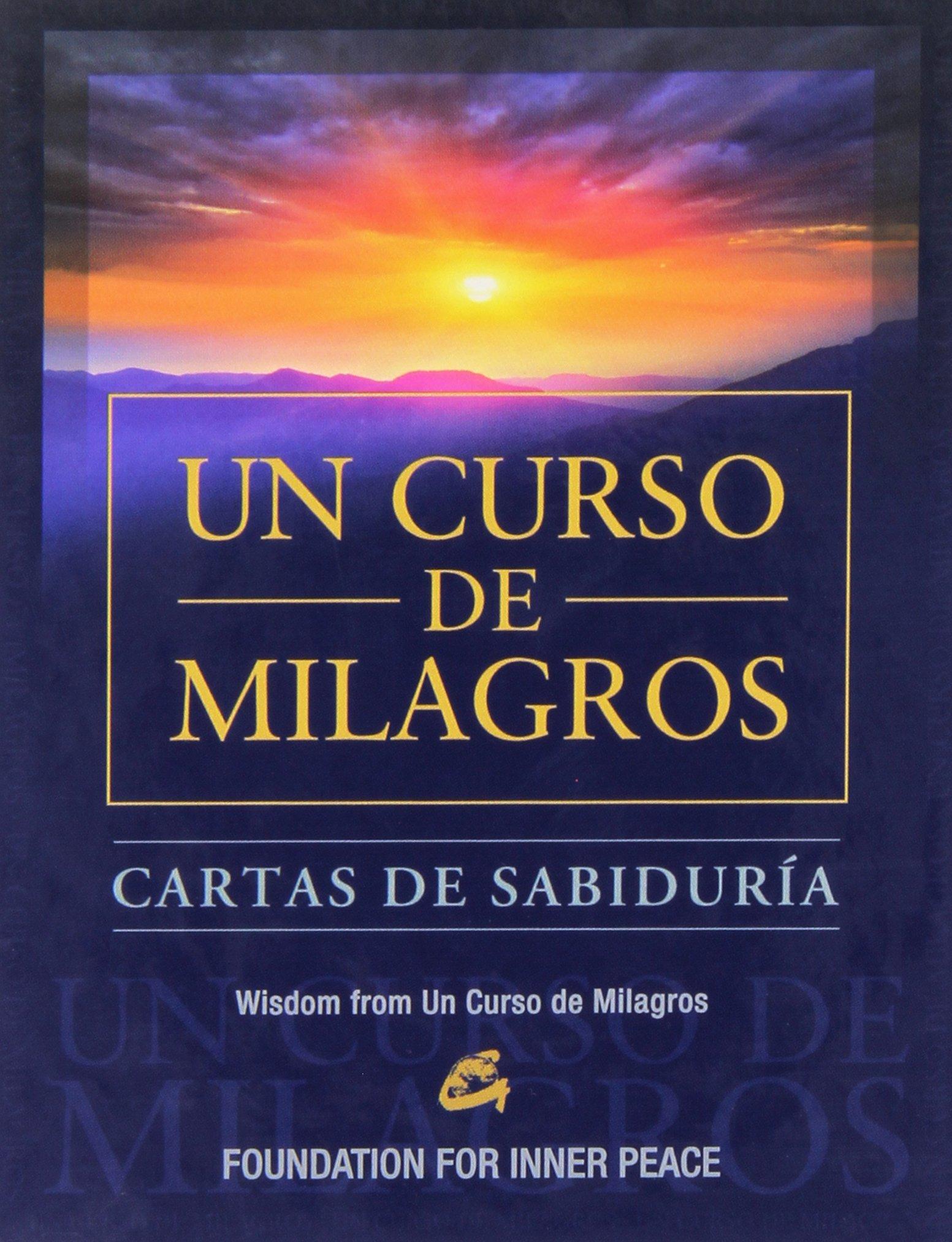 Cartas De Sabiduría De Un Curso De Milagros: Amazon.es: Foundation ...